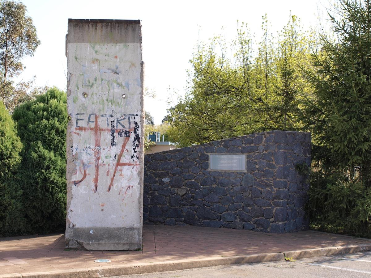 Berlin Wall in Canberra