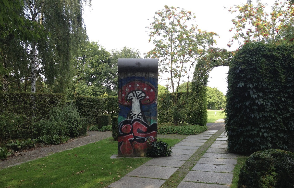 Berlin Wall in Mülheim