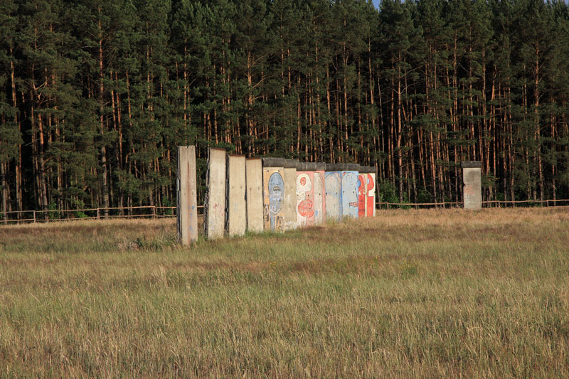 Berlin Wall in Sosnowka