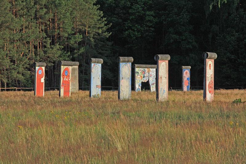 Berlin Wall in Sosnowka