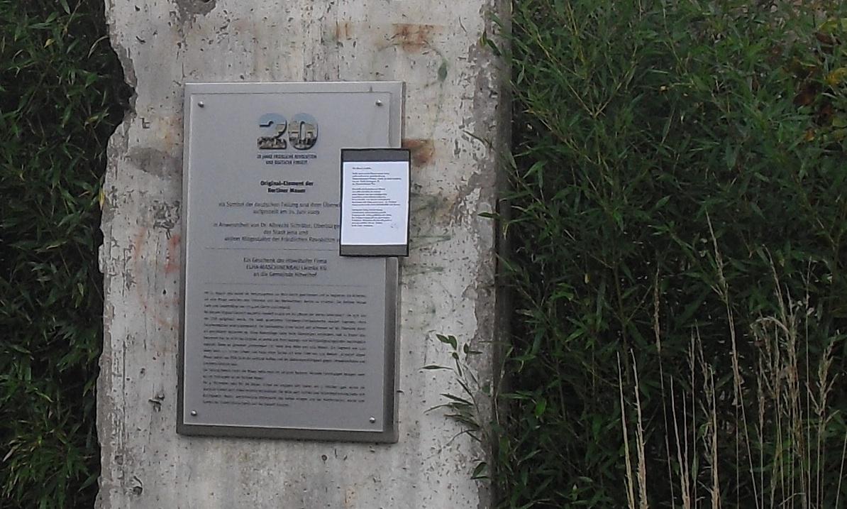 Berlin Wall in Hövelhof