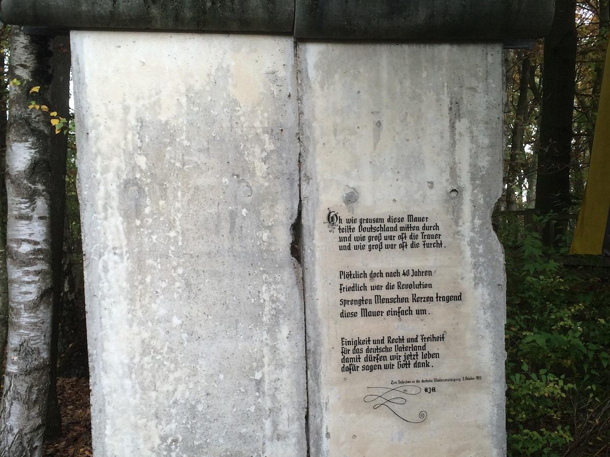 Berlin Wall in Delbrück-Hagen