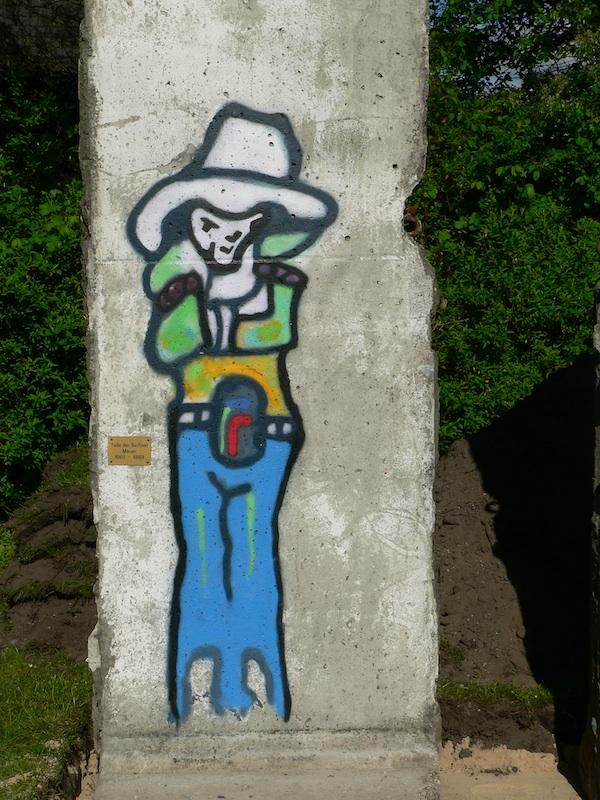 Berlin Wall in Nienburg/Weser