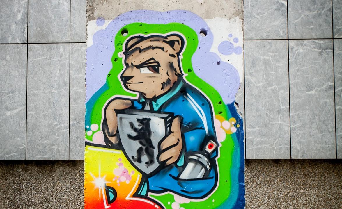 Berlin Wall in Zagreb