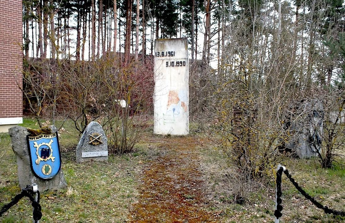 Berlin Wall in Volkach
