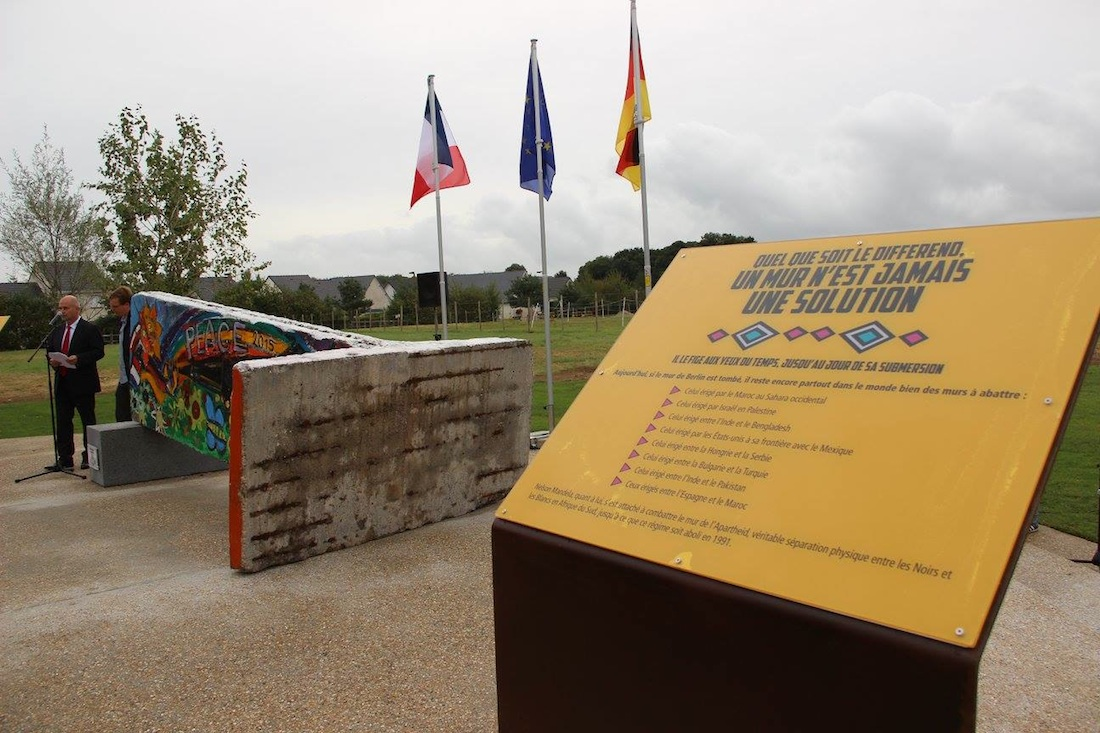 Berlin Wall in Gonfreville l'Orcher