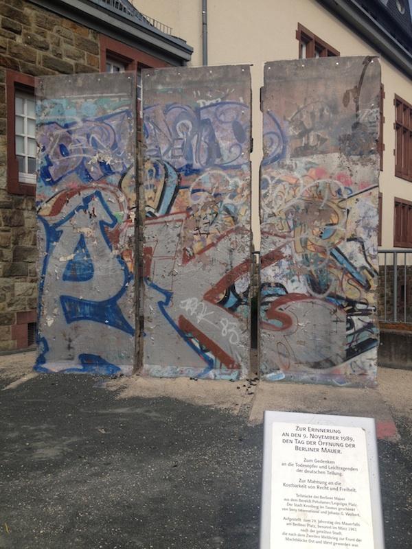Berlin Wall in Kronenberg