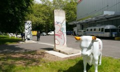 Berlin Wall in Bonn, Germany