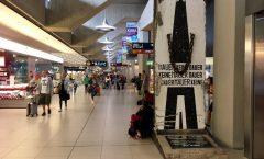 Berlin Wall at Cologne/Bonn Airport, Germany