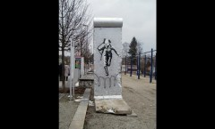Berlin Wall in Selb, D