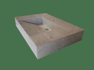 Levante Cream marble washbasin model AM75