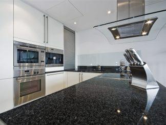 Black South Africa Granite Kitchen Countertop