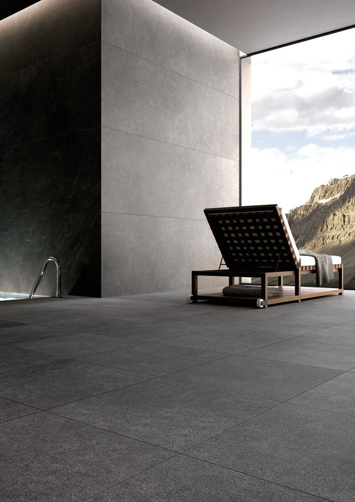 Floor and wall tiles by pietra serena