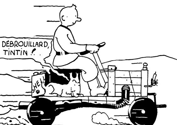 Tintin and trains: adventures on rails
