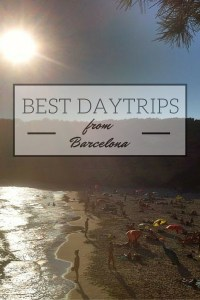 The best Daytrips from Barcelona