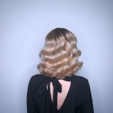Hair Color Keune 5D Retro style