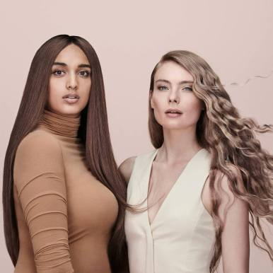 Anjali and Chiara wear Indulge