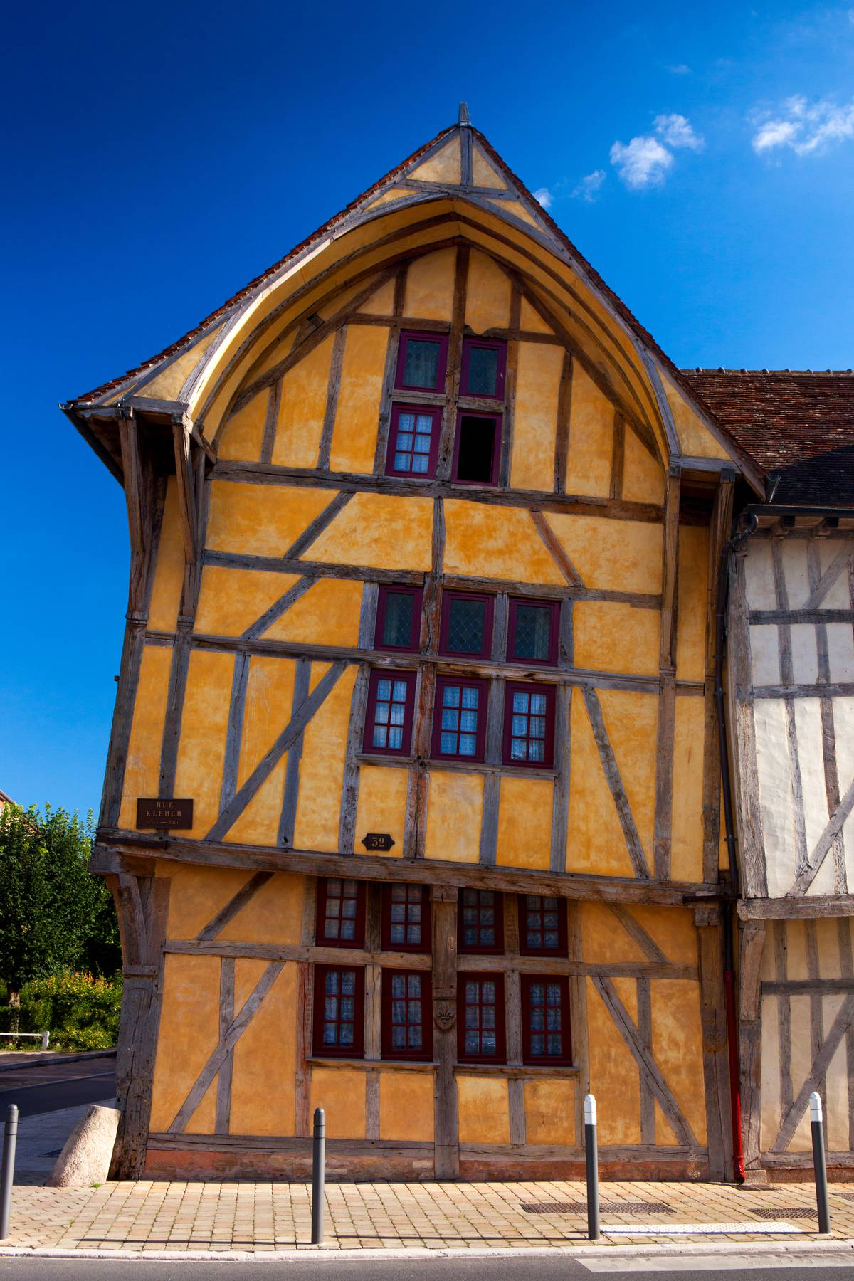 Maison à Pan De Bois : maison, Troyes,, Timber-framed, Troyes, Champagne, Tourism