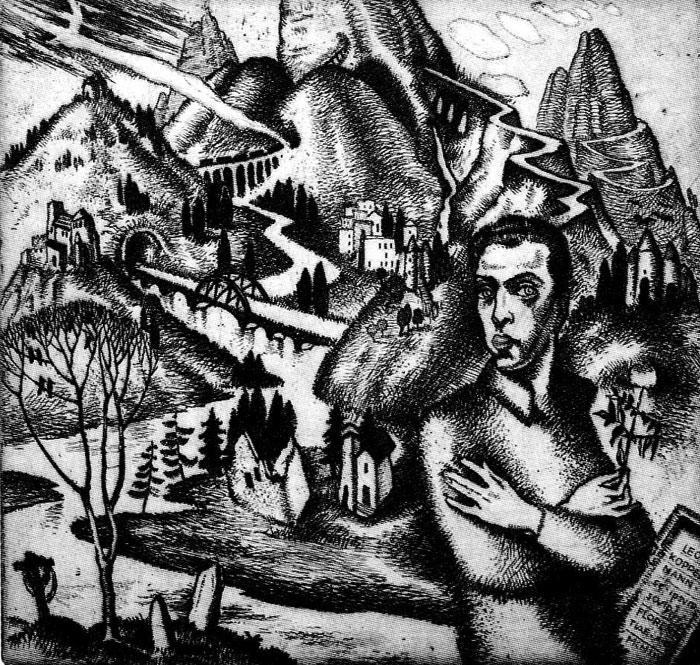 Grotesque of Leon Kopelman