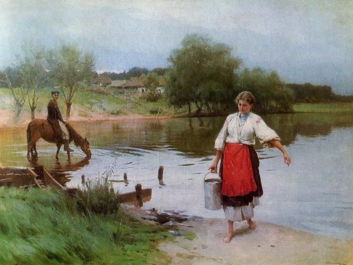 Mykola Pymonenko: Biographical sketch
