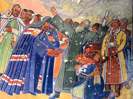 Yulian Butsmanyuk and his murals of the Church of the Basilian Fathers in Zhovkva