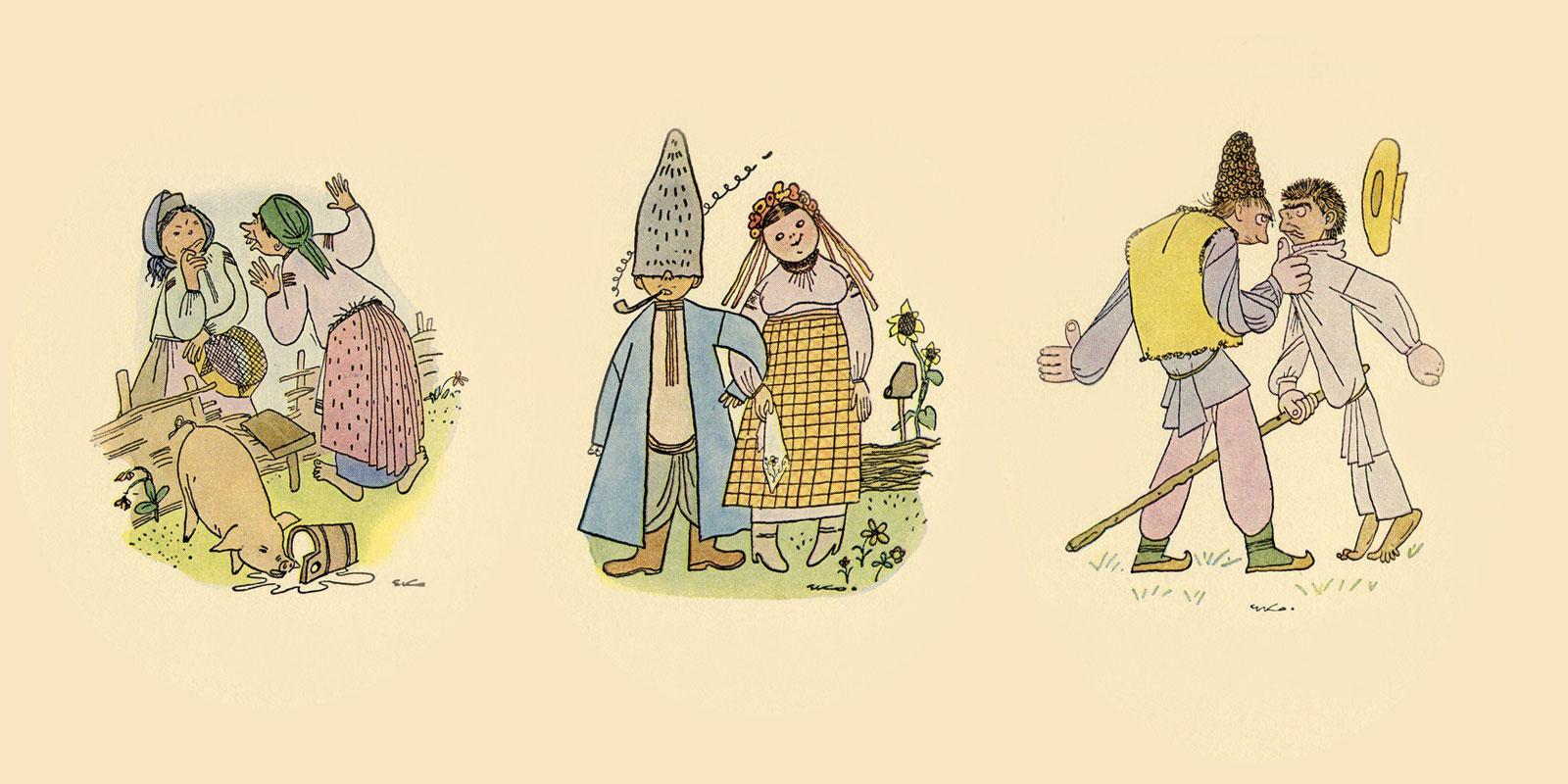 ECOlogical caricatures: Ukrainian village in images of Edward Kozak