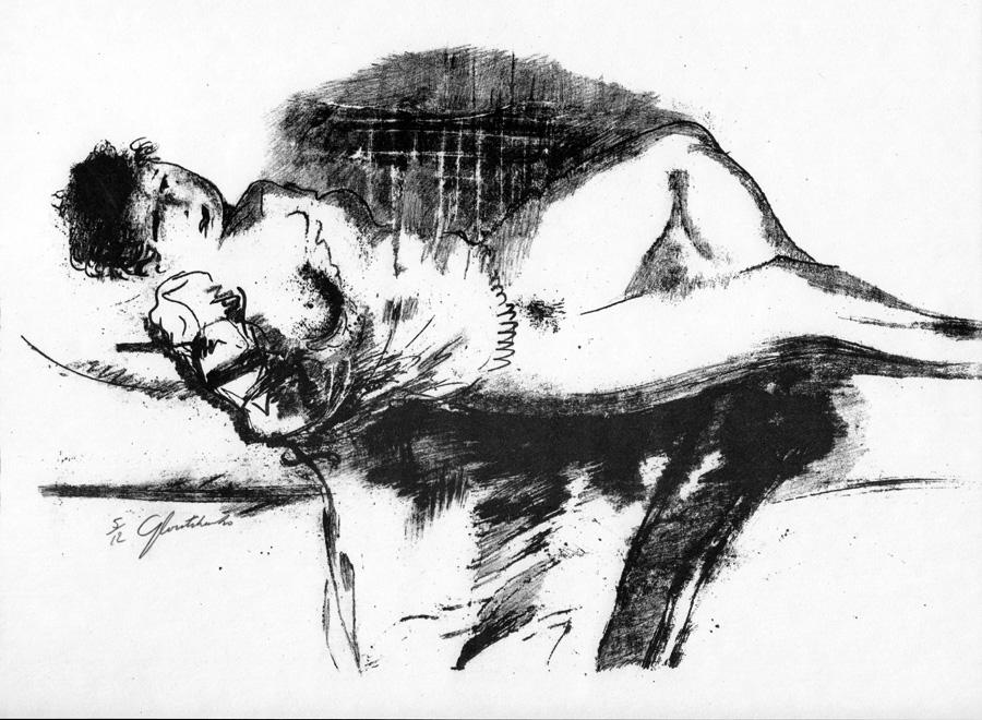 12 Nudes by Mykola Hlushchenko