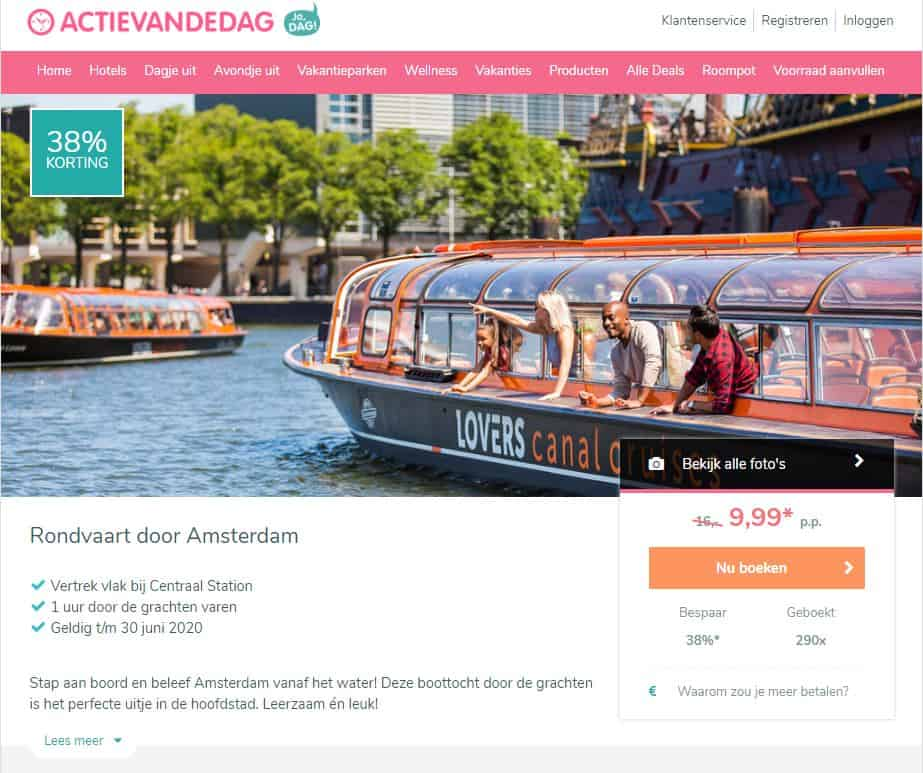 Amsterdam Canal Cruise Tickets is now on sale! (Exclusive 40% off)