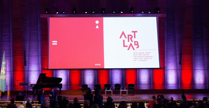 art lab dialogue with