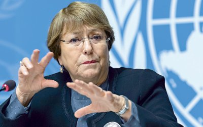 Bachelet urges investigation into allegations of torture and to allocate resources to Lebanon's National Commission for Human Rights