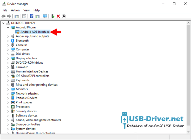 Download LG Phoenix 5 USB Driver - driver listed 1