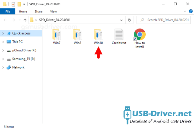 Download Dexp Ursus VA110 USB Driver - spd driver r4 20 0201 folder