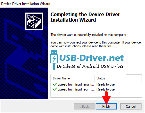 Download Gfive 4 Light USB Driver - spreadtrum jungo success
