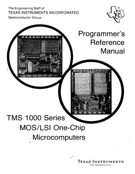 File:TMS1000 Series Programmer's reference manual.pdf