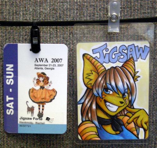 Con Badge Comparisons