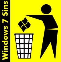 Windows 7 Sins