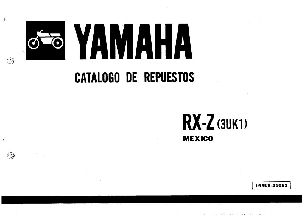 1989 yamaha rxz135 3uk1 parts catalogue.pdf (2.12 MB