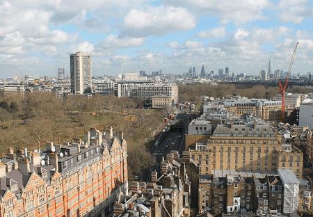 Webcam United Kingdom London Sheraton Park Tower Hotel