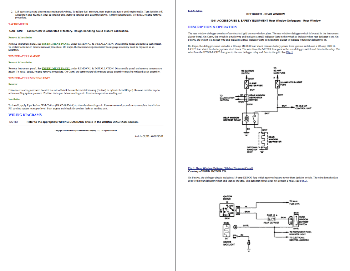 hight resolution of images from the manual repair ford festiva