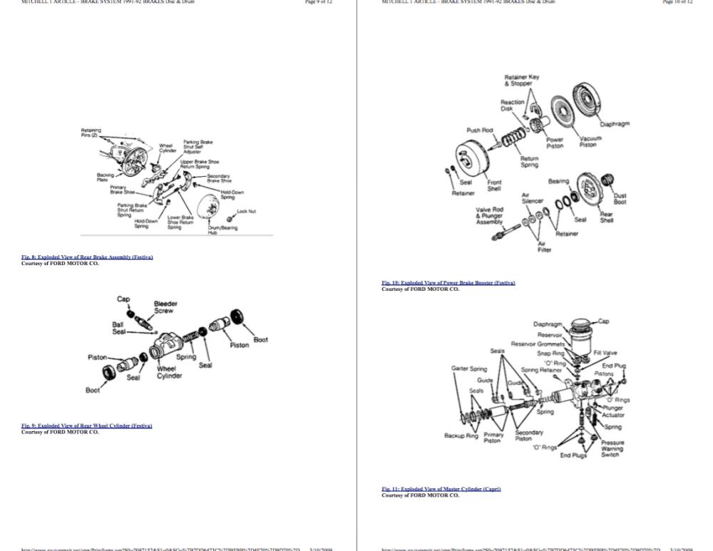 medium resolution of ford festiva workshop manual free download