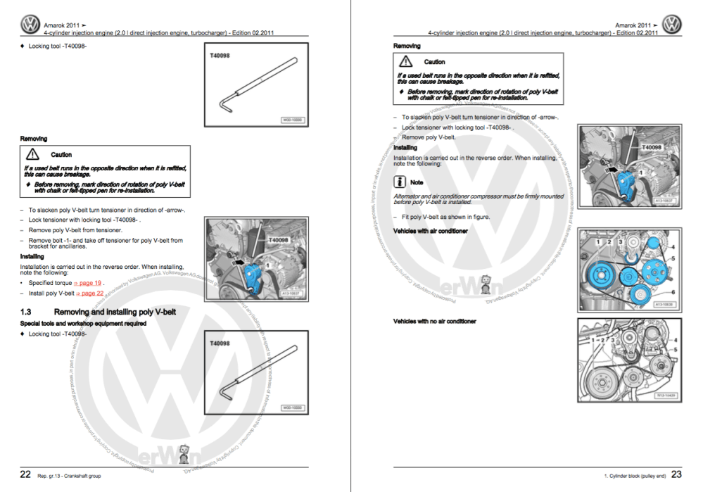 medium resolution of how to repair volkswagen amarok