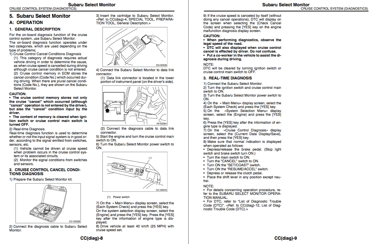 Download Subaru Legacy Service Manual Zofti