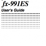 Download Casio fx-115es calculator user's guide / Zofti