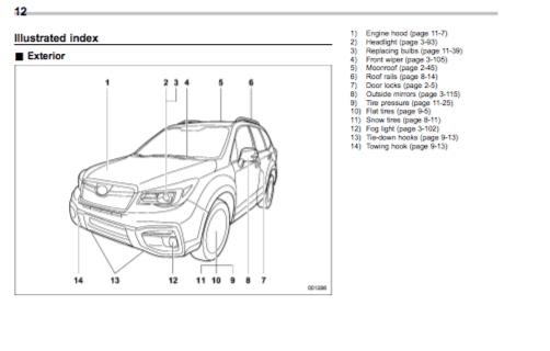 Download 2017 Subaru Forester owner's manual / Zofti