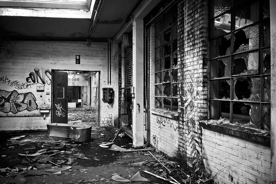 Wallpaper download Lost Places Factory Old Leave  Free