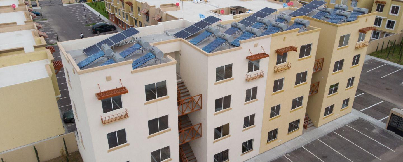 construcción sustentable en hospitales y casas