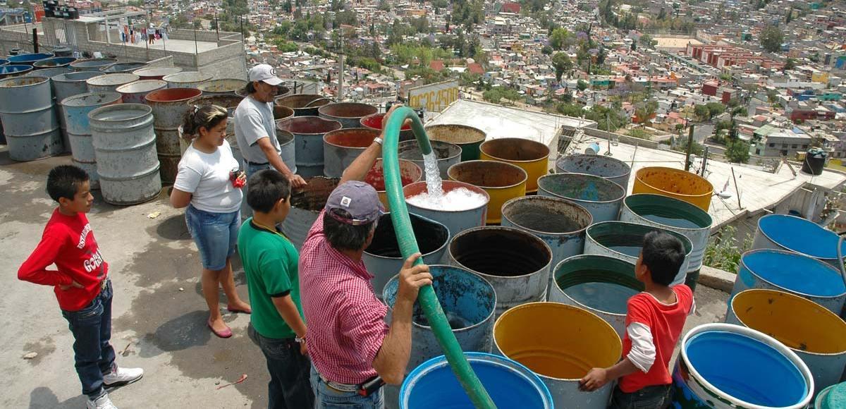 suministro de agua potable CDMX