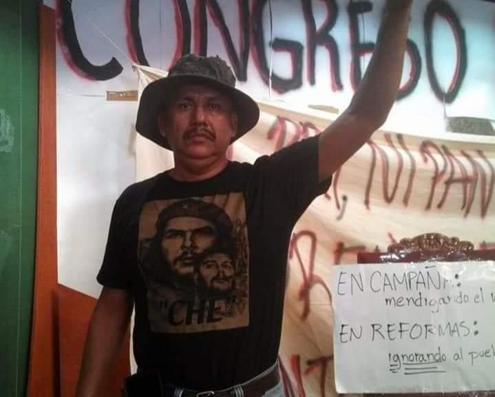 David Díaz Valdez defensor ambiental en Colima