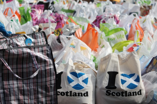 Food bank usage has increased in Scotland (credit: Zep19/Flickr)