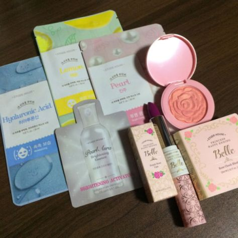 Clozette Enabalista 4th Anniversary Etude House Limited Edition Disney Princess Sets Giveaway 002